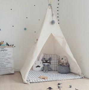 toddler room with teepee