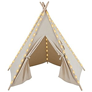 teepee tent baby shower