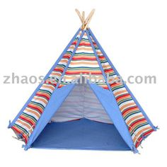 deluxe play teepee tent